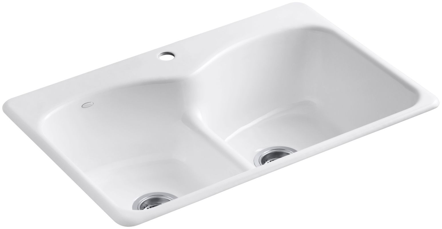 Kohler K 6626 1 Products Cast Iron Kitchen Sinks Kitchen