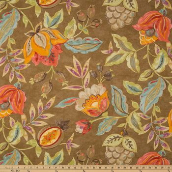 Flaxseed Modern Poetic Fabric (With images) | Fabric decor ...