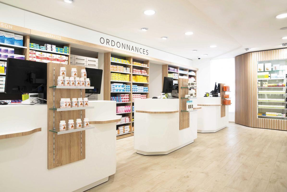 Pharmacie dumoulin cap agencement pharmacie - Le comptoir des pharmacies ...