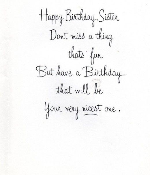 Happy Birthday Wishes And Quotes For Your Sister Mit Bildern