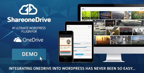 Share-one-Drive | OneDrive plugin for WordPress | Pinterest