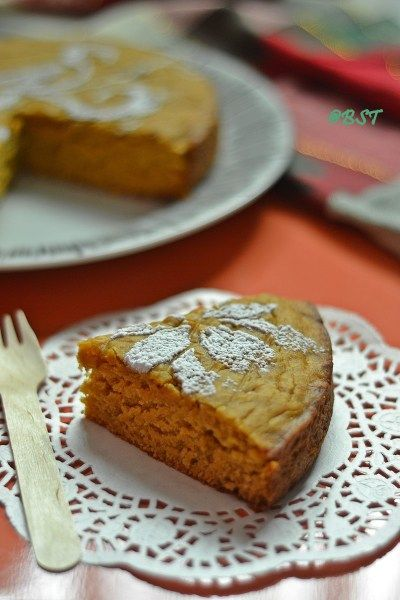 Vegan Papaya Cake