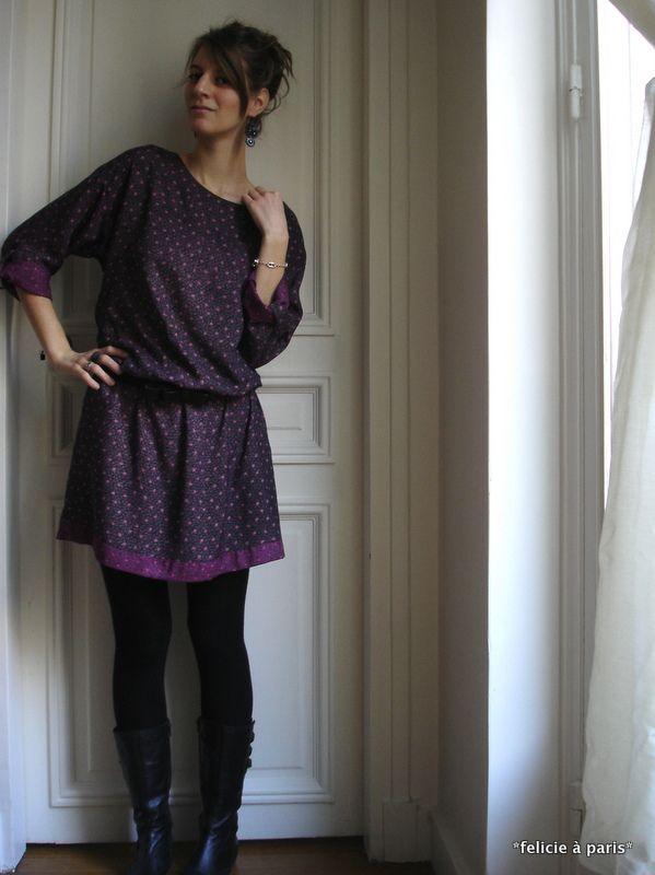 inspiration patron gratuit robe housse | Vêtements et accessoires ...