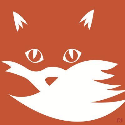 Best 25 Fox Silhouette Ideas On Pinterest Forest Art