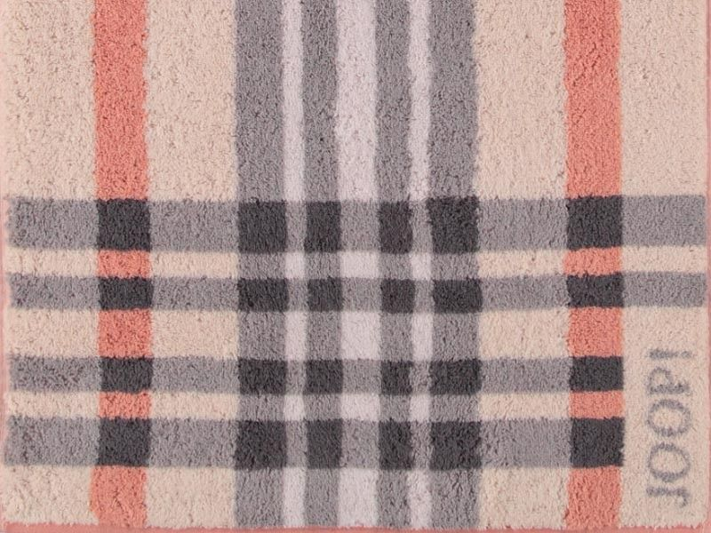 Joop badezimmerteppich ~ Ręcznik joop breeze check copper marka joop
