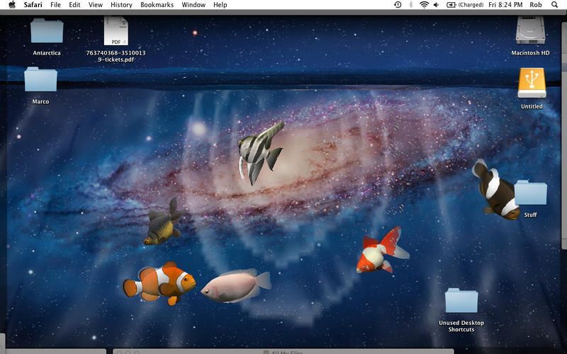 Desktop Aquarium 3D LIVE Wallpaper ScreenSaver On The Mac App Store