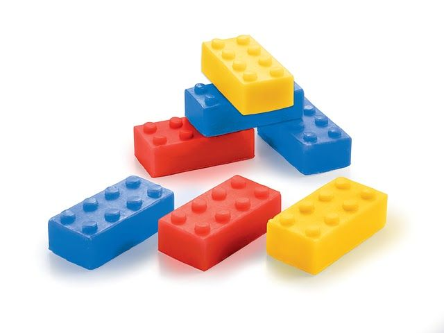 """Soap """"Lego"""" by Donkey Products"""