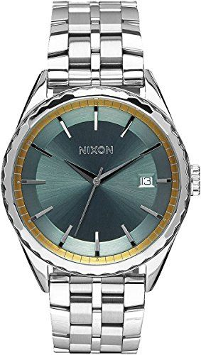 #Style #Beautiful The Silver/Sage/Gold The Minx Watch by #Nixon is a very popular item which is sure meet your shopping requirements. Highly recommended Nixon wa...