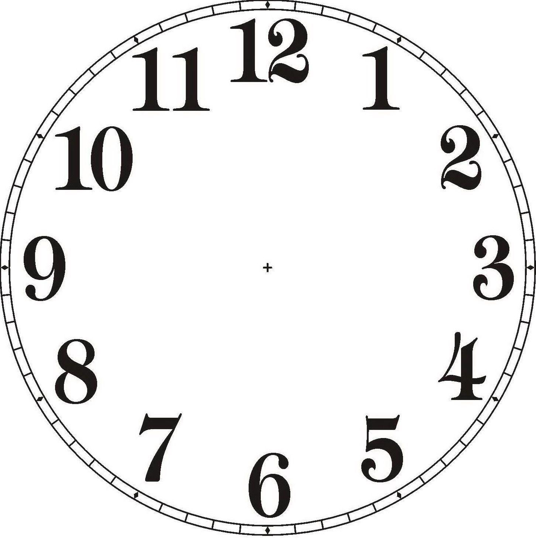 Plantillas Para Hacer Relojes De Pared 100 Moldes