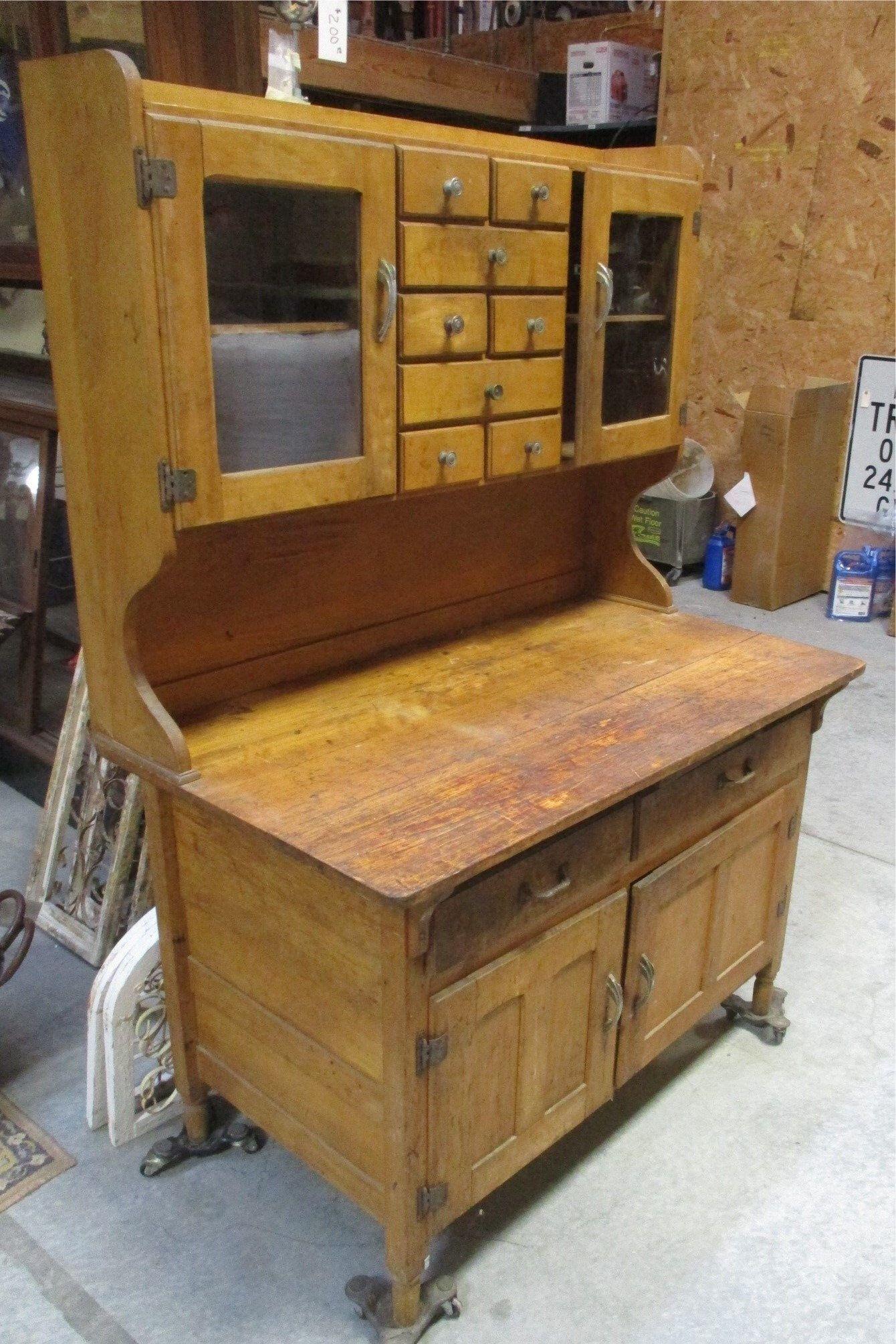 Pin On Hoosier Cabinets