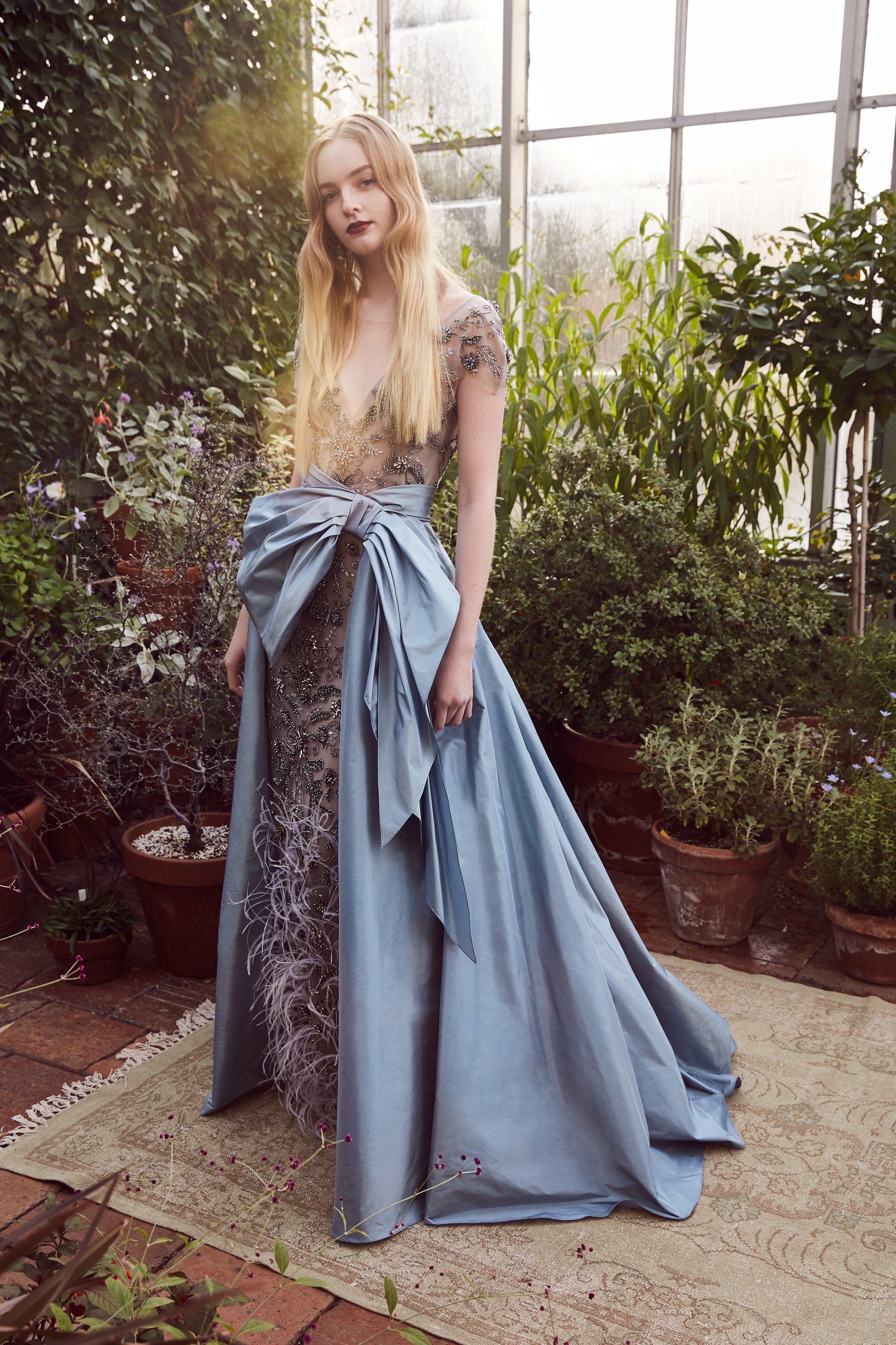 e189b860492 Marchesa Pre-Fall 2019 Fashion Show in 2019 | Pre-Fall 2019 | Autumn ...