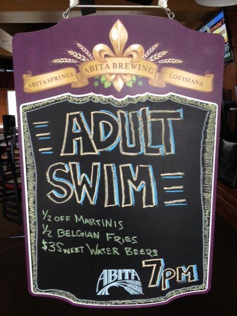One of Pensacola's best kept Thursday secrets... #AdultSwim