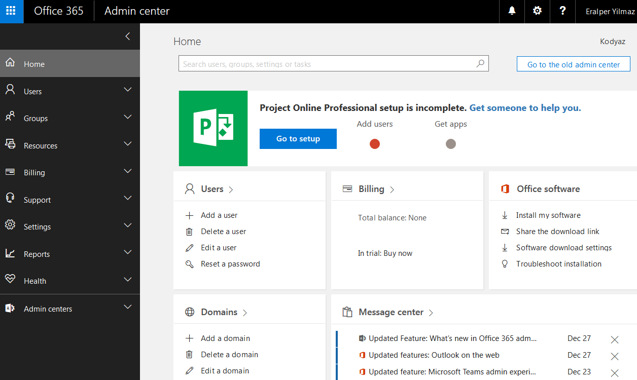 extend office 365 subscription
