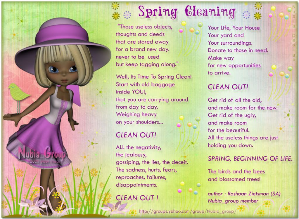 Springtime Cleaning Sayings And Quotes  Spring Cleaning