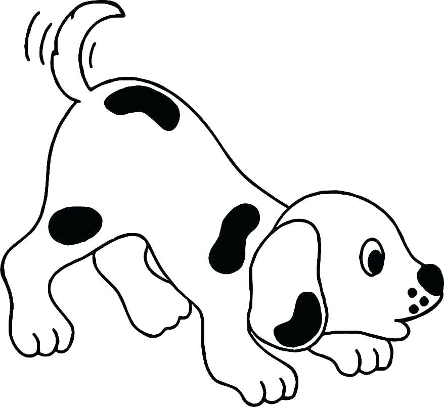 Printable Dog Coloring Pages Ideas For Kids Dog Coloring Page