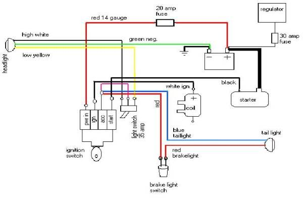 Wiring Motorcycle Headlight Google Search With Images
