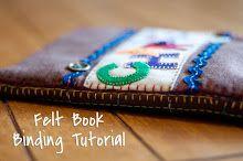 Felt Book Binding Tutorial