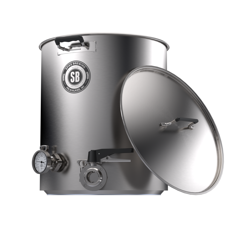 V4 10 Gallon Spike Brew Kettle Spike Brewing Kettle Gallon Brewing