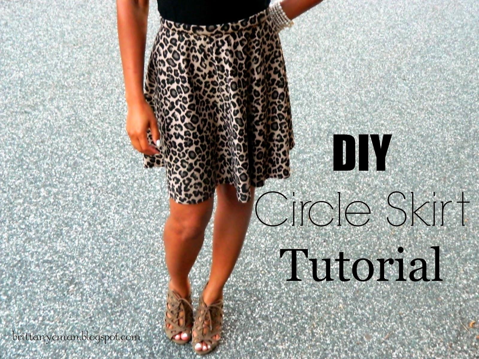 Simple Circle Skirt Tutorials | Circle skirts, Circle skirt tutorial ...