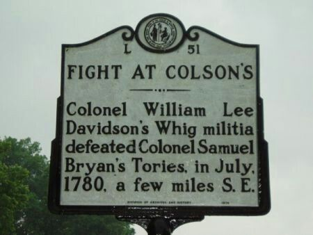 Skirmish battle at coksons