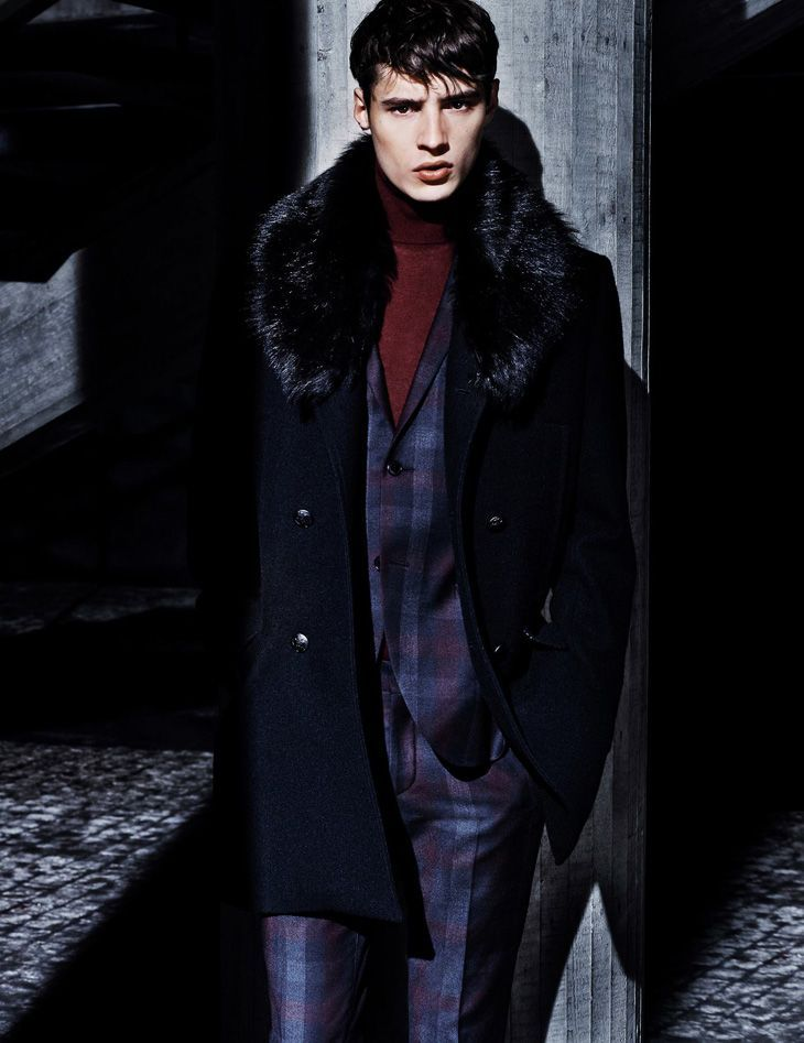 ADRIEN SAHORES BY HASSE NIELSEN FOR TIGER OF SWEDEN FALL/WINTER 2013