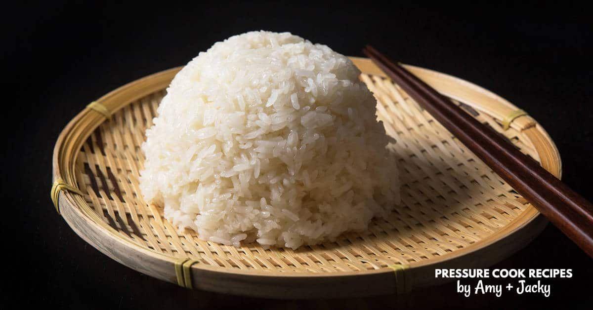 Instant Pot Sticky Rice (No Soak!) | Tested by Amy + Jacky