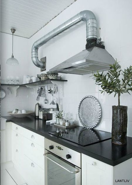 Of Photographer Magdalena Bjornsdotter Kitchen Ventilation
