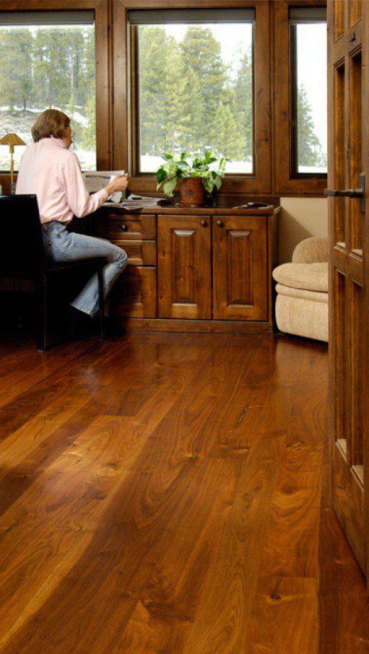 Walnut Office flooring