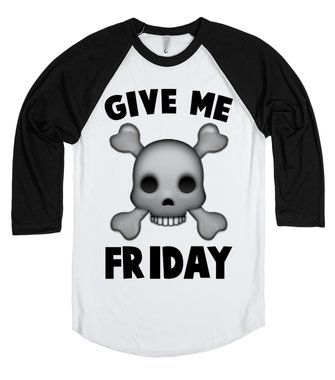Give Me Friday | Skull and Crossbones Emoji | fashion