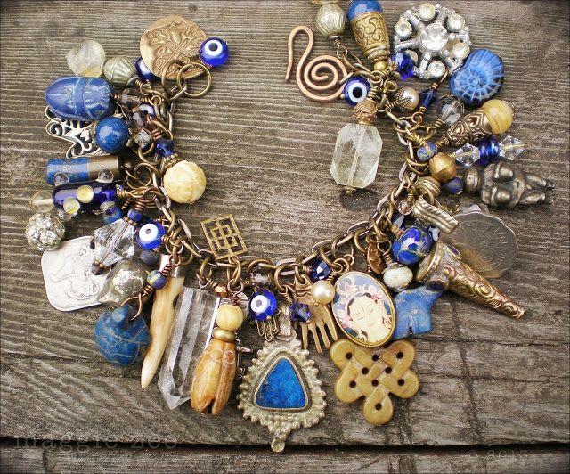 maggie zee amulet charm bracelet jewelry inspired