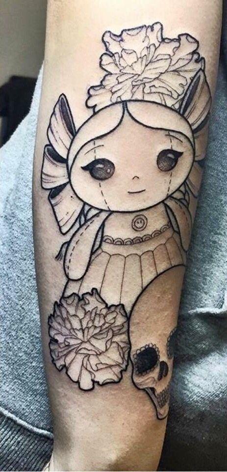 Muñeca De Trapo Tradicional Mexicana Tatuajes Tattoos