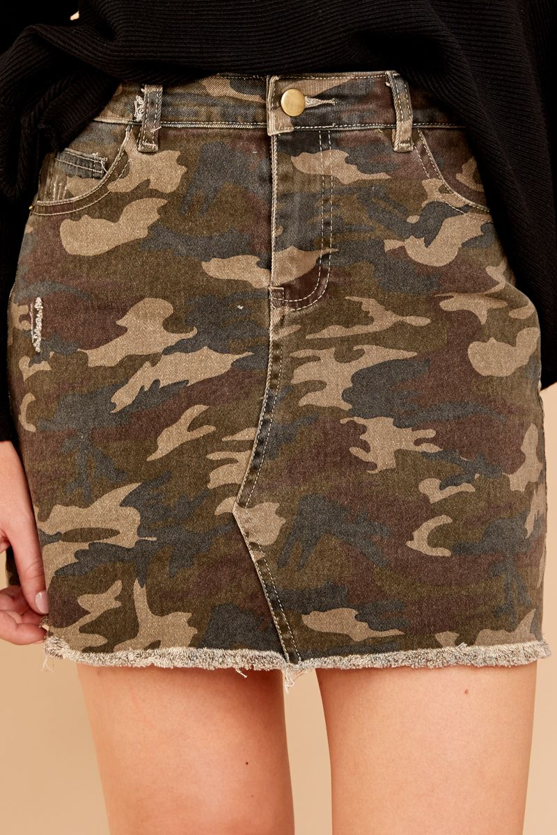 "Alpinestars Women/'s Astars /""Marker Cargo Mini/"" Skirt Beige Khaki Camo"