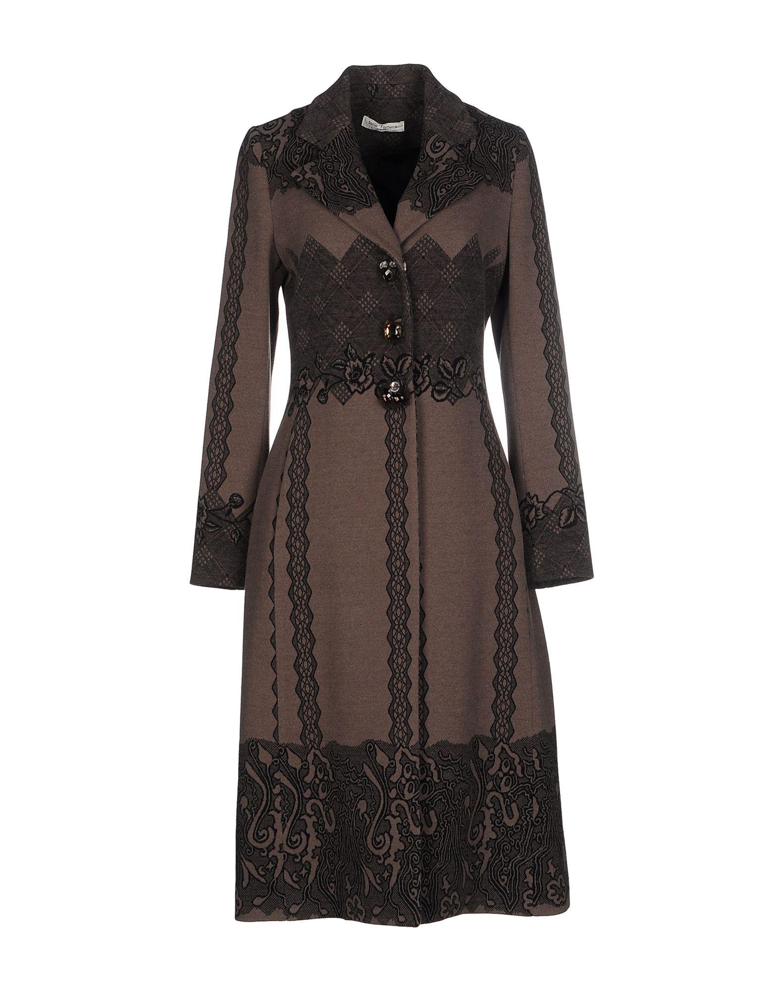 Sonia Fortuna Пальто Для Женщин - Пальто Sonia Fortuna на YOOX - 41624928TI