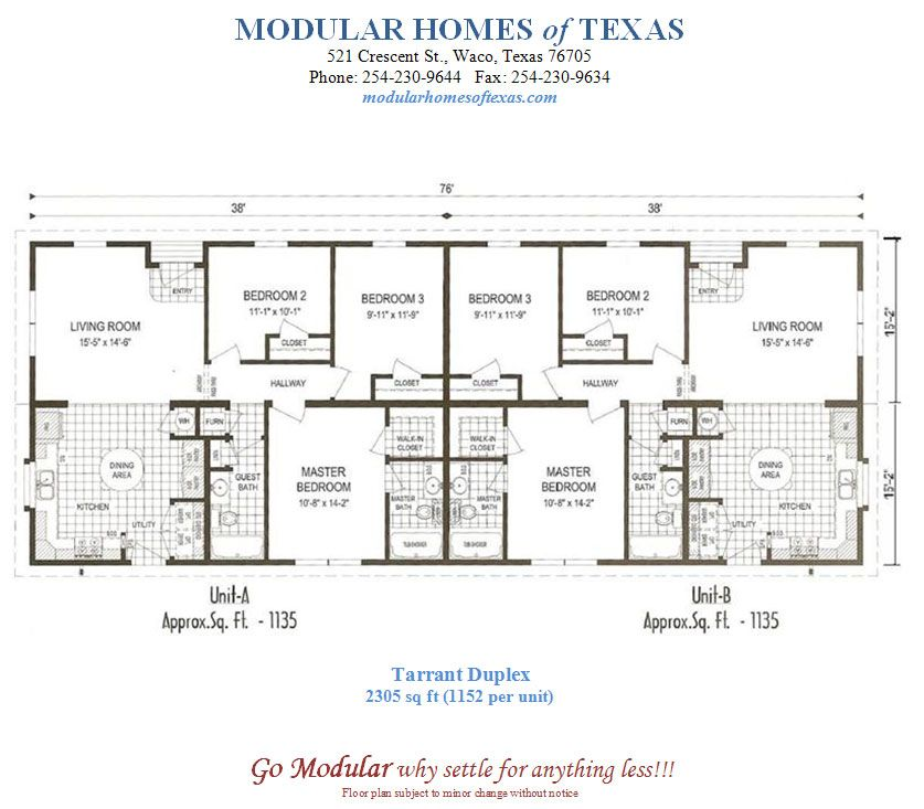 Duplex Mobile Home Floor Plans Duplex Home Plans You Can