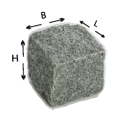 Carriere De Pave En Granit 5x10x10 Au Portugal Pave Granit Granit Gris Granit