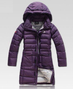 8065a5094d04 The North Face Long Purple Down Jackets For Women
