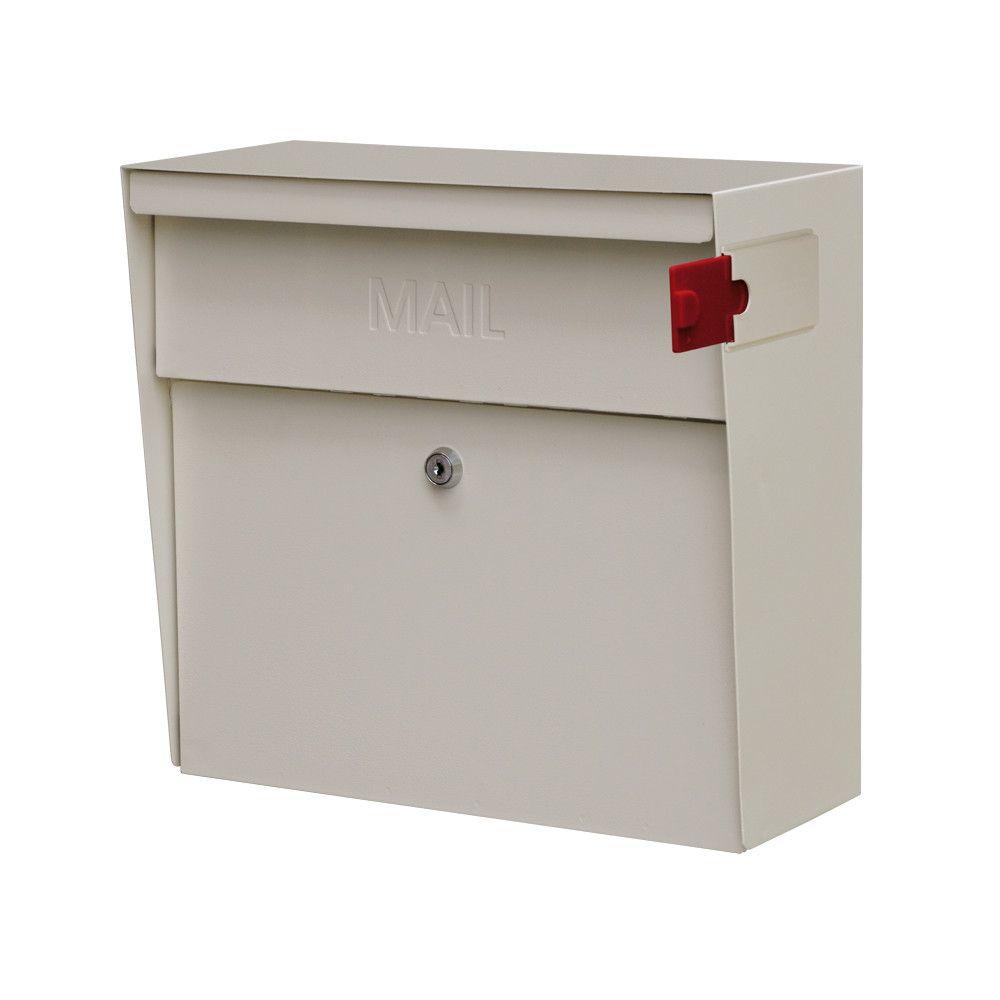 Metro Locking Wall Mounted Mailbox Wall Mount Mailbox Mounted Mailbox Mail Boss