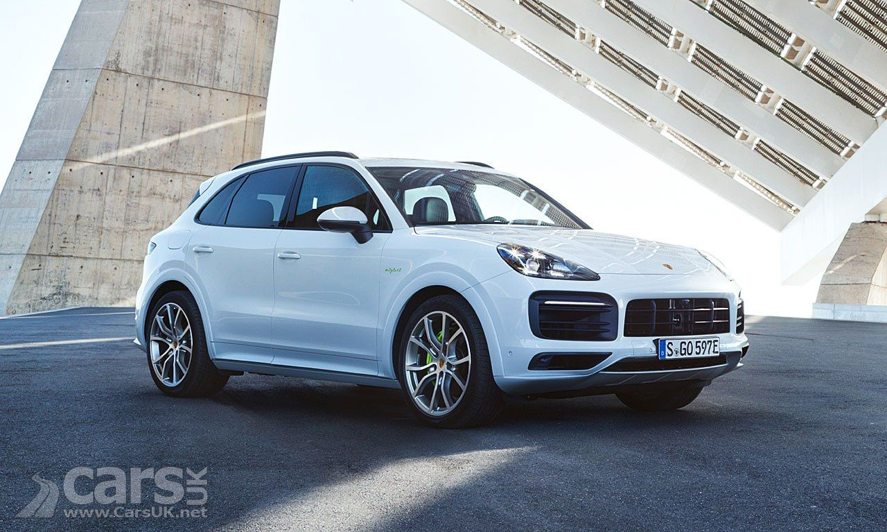 New Cayenne E Hybrid Adds Phev Power To The New Cayenne Range