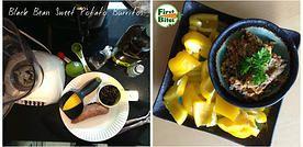 First Bites | Black Bean Sweet Potato Burrito Filling