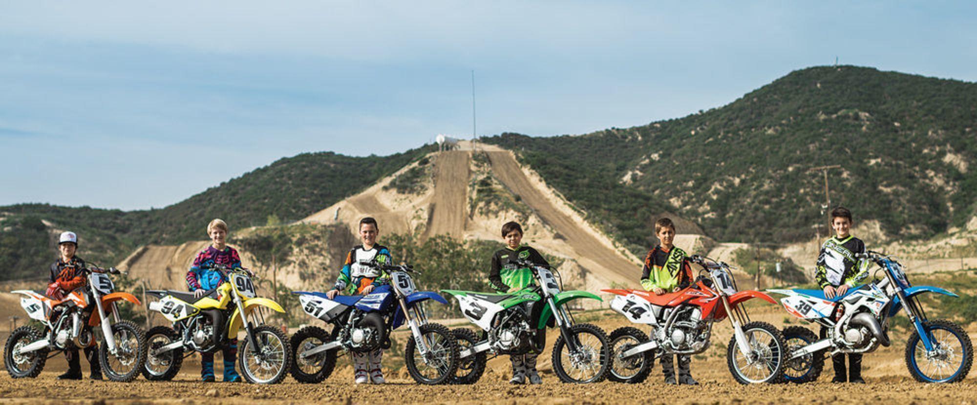 2016 Dirt Rider 85cc Mx Shootout Motocross Motocross Bikes Ktm