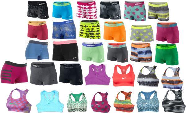 8241a9ec78f Nike Pros= Cheer life | Fashion | Nike pros, Nike pro shorts, Nike ...