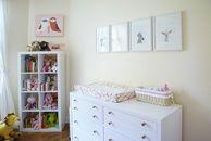Olivia's Sweet Nursery | The Little Umbrella #quarto #bebe #menino #decoracao #ideias