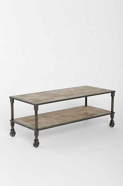 4040 Locust Heritage Rolling Coffee Table - Urban Outfitters