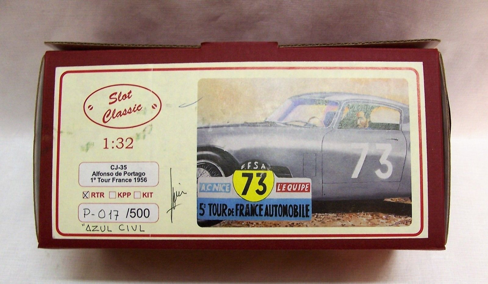 1/32 Slot Car Slot Classic CJ 35 Alfonso de Portago Tour De France 1956 Ferrari https://t.co/5CBsfgS0eh https://t.co/8UxNpY0WUi