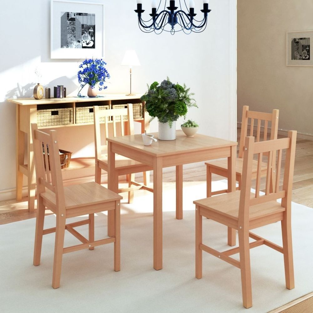 Square Dining Table And 4 Chairs Set Living Room Furniture Set Beauteous Square Dining Room Table Decorating Design