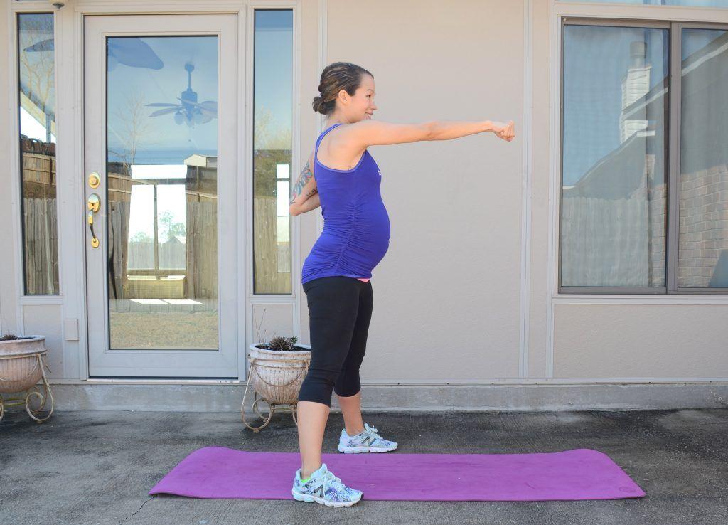 Prenatal Cardio HIIT Workout Prenatal workout, Mommy