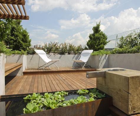 #Tarima de #Exterior de #IPE #Outdoor #Deck #Decor #Interiordesign #Home #Mataro #Barcelona www.decorgreen.es