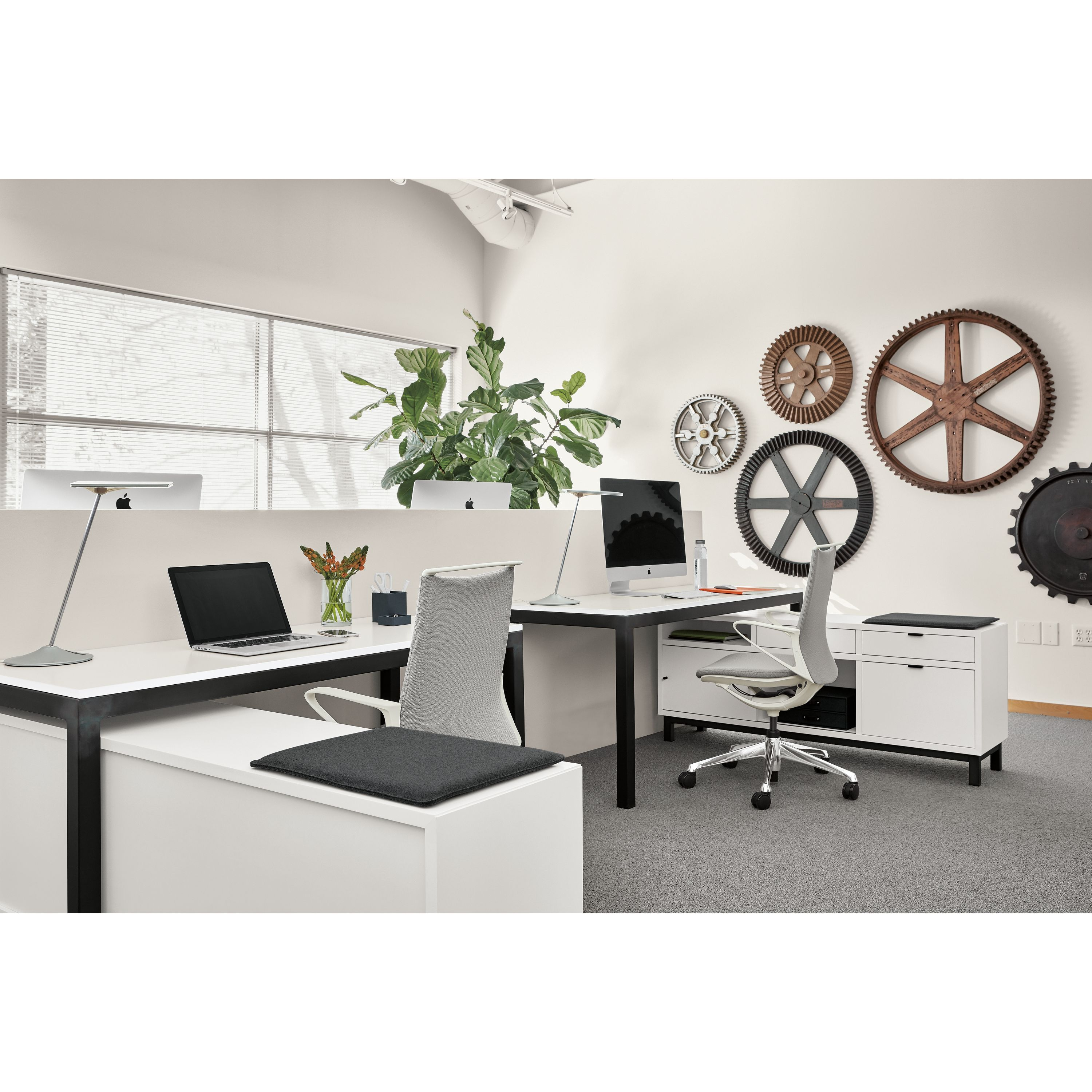 Room board copenhagen file storage benches with cushion