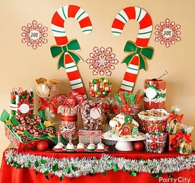 Super cute | Christmas buffet, Christmas candy buffet, Affordable christmas