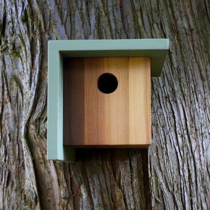 1001 id es cr atives pour mangeoire oiseaux fabriquer soi m me nichoir oiseau toiture et. Black Bedroom Furniture Sets. Home Design Ideas